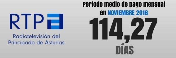 RTPA pago proveedores noviembre 2016