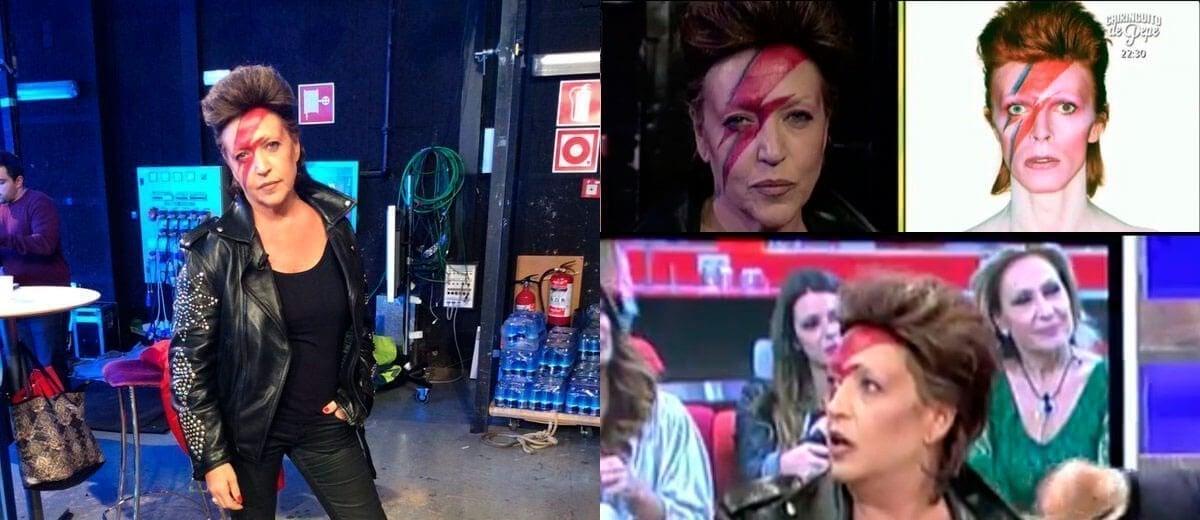 Así homenajeó Lydia Lozano a David Bowie en 'Sálvame'