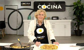 Manuela carmena en canal cocina este s bado 12 de marzo for Canal cocina programacion