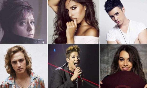 ¿Quiénes son #Los6DeObjetivoEurovision?