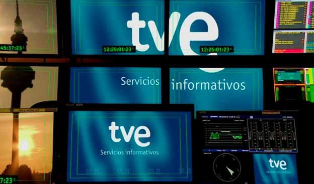 Cachondeo en Twitter con el premio Iris al Mejor Informativo al Telediario 1 de TVE