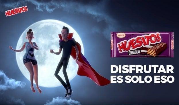 Canción anuncio de Huesitos: «Amante Vampiro»