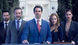 ¿Cuántos capítulos tiene la serie 'Secretos de Estado' de Telecinco?
