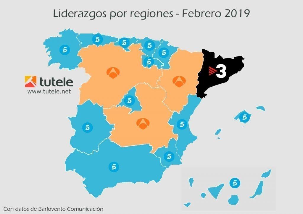 mapa-audiencias-por-regiones-febrero-2019