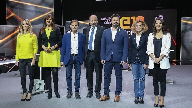 El debate de TV3 arrasa con un 31,4% de audiencia