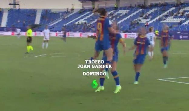 Comentaristas del Trofeo Joan Gamper en laSexta